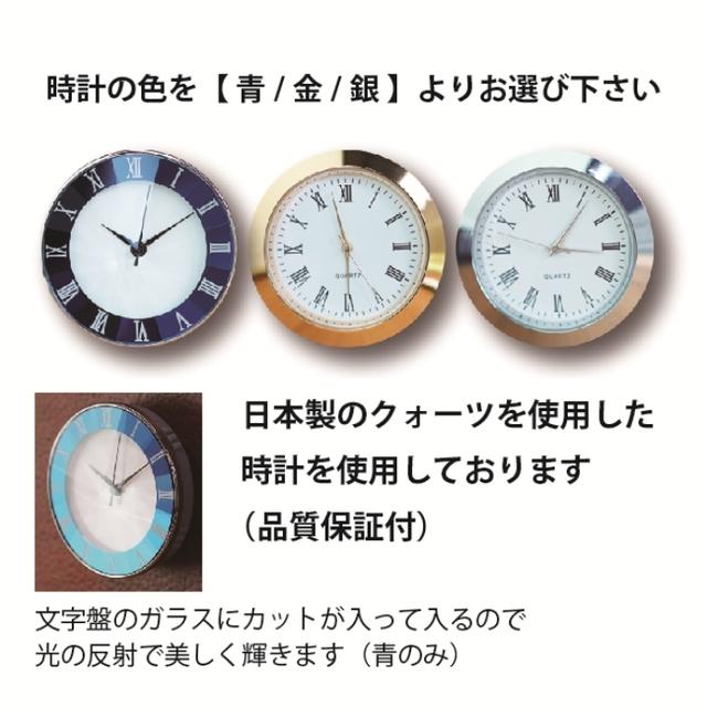 時計の説明