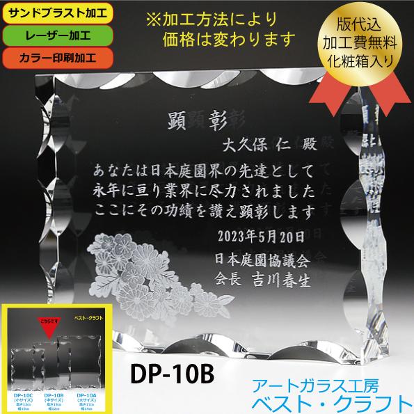 クリスタル盾 DP-1B(中)