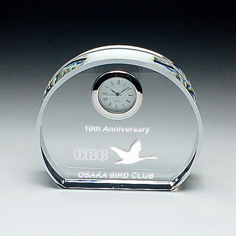 DT-3 クリスタル時計 8.5cm