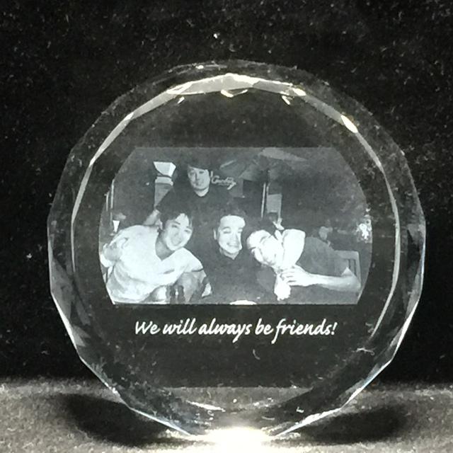 友人へのプレゼント…※レーザー加工