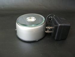 回転式LED台座 丸型(小)φ8cm
