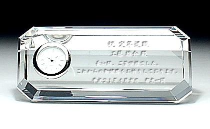 時計付ペーパーウェイトDT-8