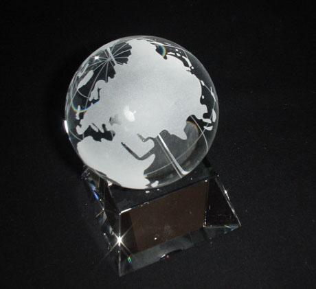 地球儀・台座付 約13cm