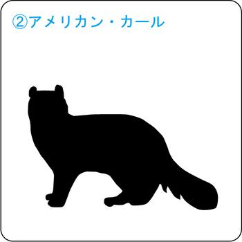 ネコのシルエット…2