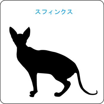 ネコのシルエット…7