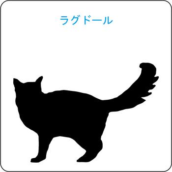 ネコのシルエット…12