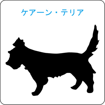 イヌのシルエット…15