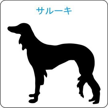 イヌのシルエット…20