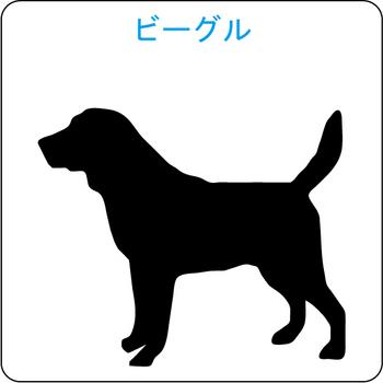 イヌのシルエット…36