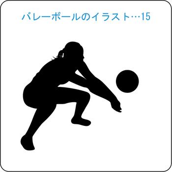 バレーボール-15