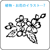 植物・お花のイラスト…7