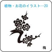 植物・お花のイラスト…20