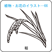 植物・お花のイラスト…66