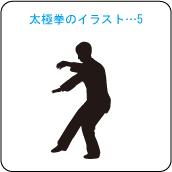 太極拳のイラスト・・・5