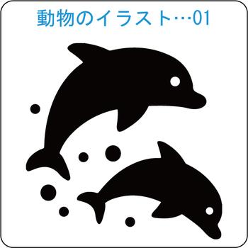 動物-01 イルカ-1