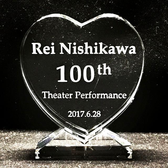 AKB48 西川怜様 シアターパフォーマンス100回記念